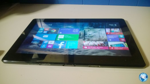 La Asus T100 sous Windows 8.1 dispose d'un écran 10.1 pouces.